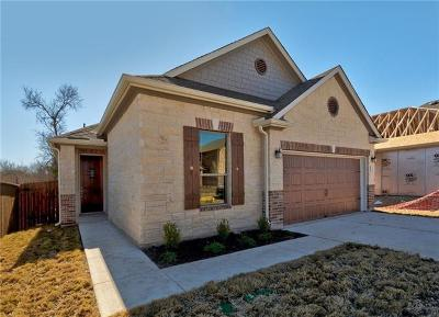 Round Rock Single Family Home For Sale: 2471 Sunrise Rd #72