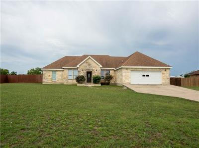Jarrell Single Family Home For Sale: 259 County Road 306