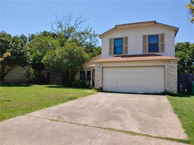 Pflugerville Single Family Home For Sale: 410 Sage Boot Dr