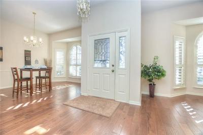 Travis County, Williamson County Single Family Home Pending - Taking Backups: 10607 Saber Creek Cv