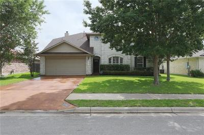 Round Rock Single Family Home For Sale: 3704 Haleys Way