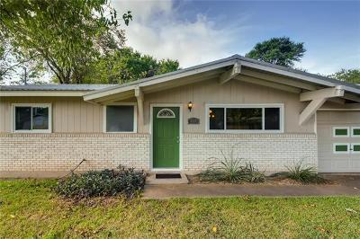 Austin Single Family Home Pending - Taking Backups: 2501 Cecil Dr