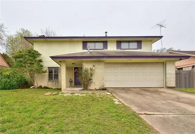Travis County Single Family Home Pending - Taking Backups: 6406 Skycrest Dr