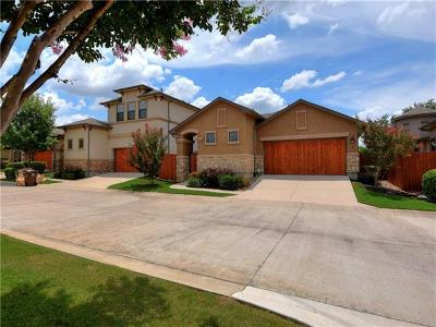 Round Rock Single Family Home Pending - Taking Backups: 4332 Teravista Club Dr #8