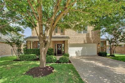 Round Rock Single Family Home For Sale: 4312 Fairway Path