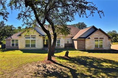Round Mountain TX Single Family Home For Sale: $595,000