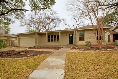 Austin Single Family Home For Sale: 2304 Greenlee Dr