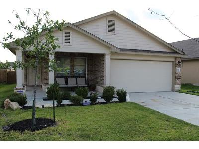 Williamson County Single Family Home Pending - Taking Backups: 252 Geode Ln