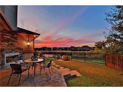 Round Rock Single Family Home Active Contingent: 4332 Teravista Club Dr #16