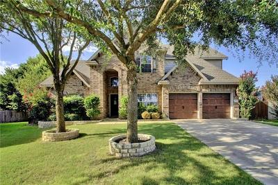 Round Rock Single Family Home For Sale: 720 Tom Kite Dr
