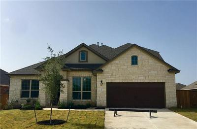 Round Rock Single Family Home For Sale: 3709 Kearney Ln