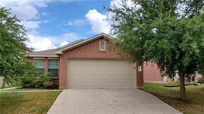 Pflugerville Single Family Home Pending - Taking Backups: 13313 Orourke Dr