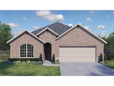Round Rock Single Family Home For Sale: 1900 Alvarado Dr