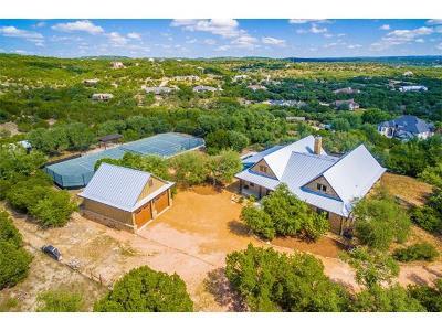 Spicewood Single Family Home For Sale: 4312 Ridge Pole Ln