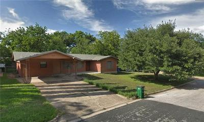 Austin Single Family Home For Sale: 1900 Corona Dr