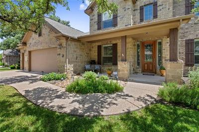 Cedar Park Single Family Home Pending - Taking Backups: 106 N Saddle Ridge Dr