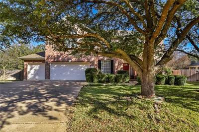 Round Rock Single Family Home Pending - Taking Backups: 8712 Tin Roof Cv