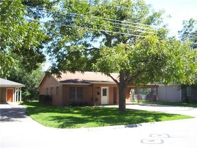 Georgetown Single Family Home For Sale: 1707 S Main St