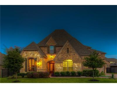Round Rock Single Family Home For Sale: 3013 Wood Springs Ln