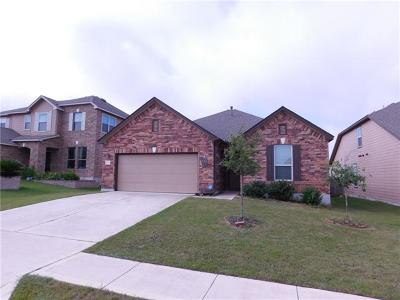Round Rock Single Family Home Pending - Taking Backups: 5829 Sardinia Dr