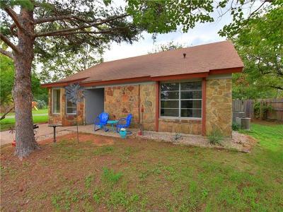 Burnet Single Family Home Pending - Taking Backups: 400 N River Oaks Dr