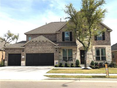 Leander Single Family Home For Sale: 1708 Hollowback Dr