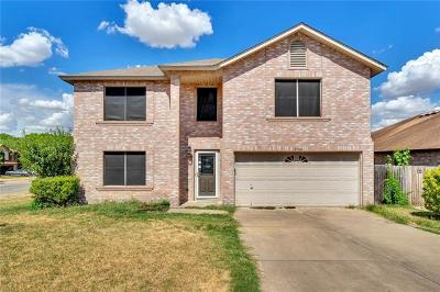 Pflugerville Single Family Home For Sale: 17700 Kessler Dr