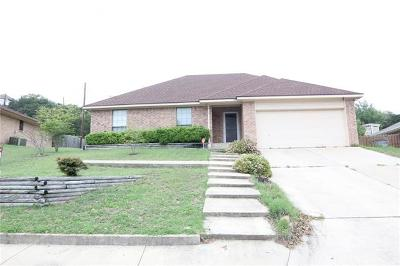 Harker Heights Single Family Home For Sale: 1613 Cedar Oaks Ln
