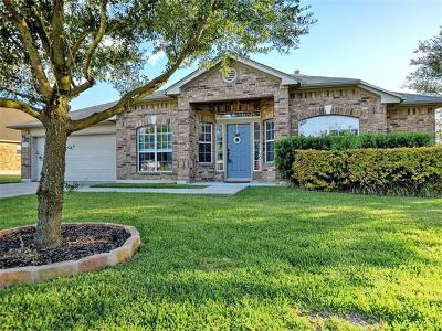Pflugerville Single Family Home For Sale: 609 Kingston Lacy Blvd