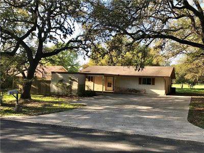 Wimberley Single Family Home Pending - Taking Backups: 84 Champions Cir