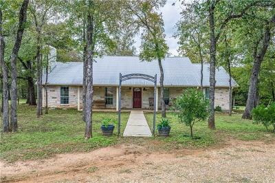 Bastrop Single Family Home For Sale: 1394 Lower Red Rock Rd