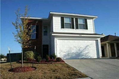 Manor Single Family Home For Sale: 14429 Cummins Way