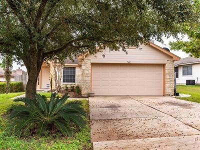 Single Family Home For Sale: 7401 Muffin Dr