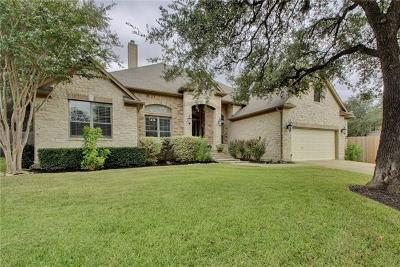 Round Rock Single Family Home Pending - Taking Backups: 3404 Tourmaline Trl