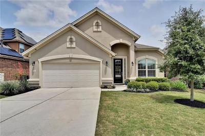 Leander Single Family Home For Sale: 3921 Good Night Trl