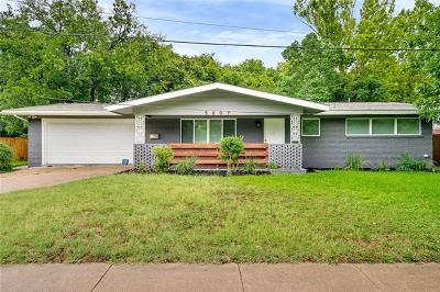 Austin Single Family Home For Sale: 5607 Berkman Dr