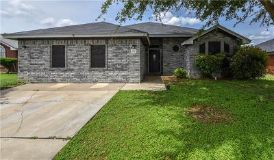 Killeen Single Family Home For Sale: 3907 Split Oak Dr