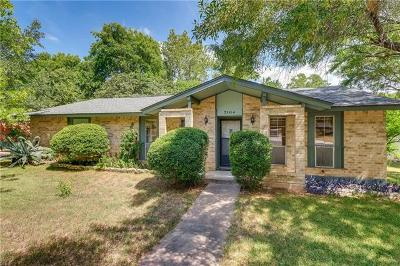 Hays County, Travis County, Williamson County Single Family Home For Sale: 7104 S Brook Dr
