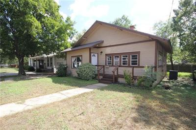 Belton Single Family Home For Sale: 113 E 9th Ave