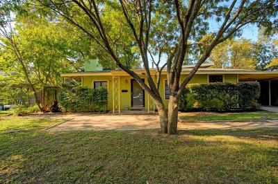 Austin Single Family Home For Sale: 1725 E 38 1/2 St