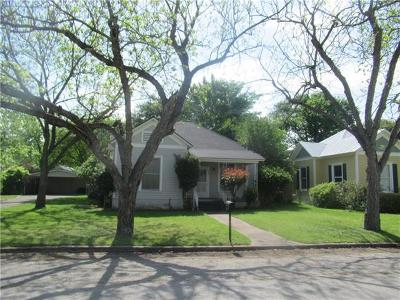 Bastrop County Single Family Home For Sale: 604 Mills St