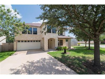 Cedar Park Single Family Home For Sale: 1918 Carriage Club Dr