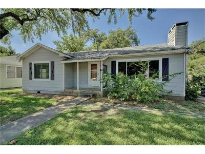 Travis County Single Family Home Pending - Taking Backups: 1303 Arcadia Ave