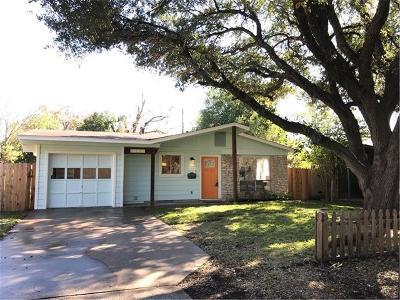 Travis County Single Family Home For Sale: 8305 Reeda Ln