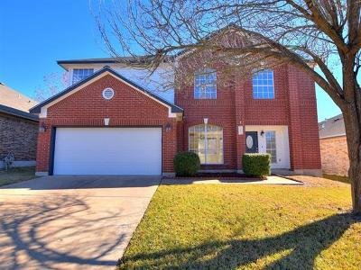 Pflugerville Single Family Home Pending - Taking Backups: 20825 Derby Day Ave