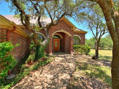 Liberty Hill Single Family Home For Sale: 402 Carriage Oaks Dr