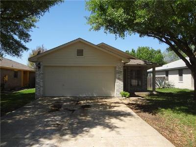 Pflugerville Single Family Home Pending - Taking Backups: 15412 Sarahs Creek Dr