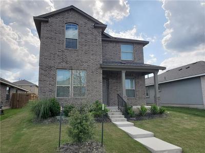 Leander Single Family Home For Sale: 1029 Britt Ln