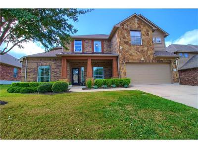 Cedar Park Single Family Home For Sale: 503 Williams Way