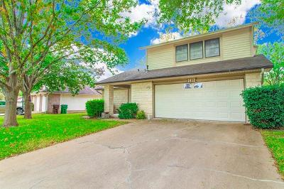 Round Rock Single Family Home For Sale: 1812 Provident Ln